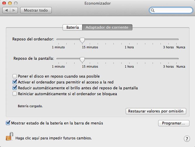 economizador mac