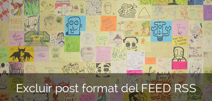 Excluir post format feed rss WordPress